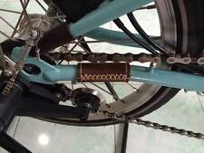Brompton Leather Swing Arm Protector (Stitch Edition in Brown)