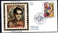 FRANCE FDC - 2137 2 TABLEAU ALBERT GLEIZES 1981