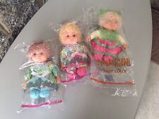 Vintage 80S# 3X Fiba Doll Pratoline Pulcini Very Rare Bamboline Bambole