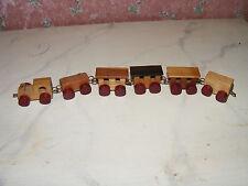 # Nostalgie-Holz-Zug-Kinderzimmer-Kaufladen-Puppenhaus-Puppenstube-ca 1:10