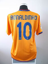 RONALDINHO #10 Barcelona Third Football Shirt Jersey 2007/08 (L)