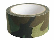 Web-Tex Camo Camouflage Fabric Tape High Strength Extra Grip 10m Tough DPM