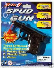 BLACK SPUD GUN FREE POST