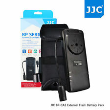 JJC External Flash Battery Pack for Canon Flash Speedlite 600EX II-RT 580EX II
