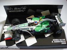 Minichamps 1/43 Honda RA108 Rubens Barrichello 2008 *RARE*