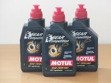 15,90 €/L MOTUL GEAR COMPETITION 75w-140 gl-5 3 x 1 L renngetriebeöl