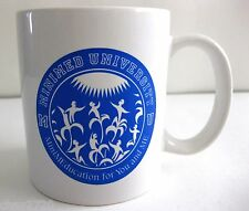 EUC MINIMED UNIVERSITY WHITE STONEWARE SOUVENIR MUG 8 OZ.