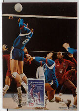 yt 2420     FRANCE CPA Carte Postale Maximum VOLLEY BALL