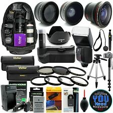 Nikon D5300 D5200 D5100 DSLR Camera Everything You Need Accessory Kit Pro