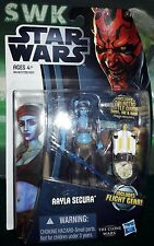 "Star Wars Clone Wars Jedi Knight Aayla Secura, 3.75"" Figure CW14."