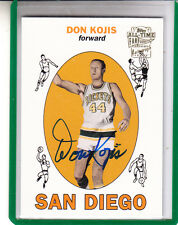 "2005-06 TOPPS FAN FAVORITES DON KOJIS ""ROCKETS/SUPERSONICS"" AUTO AUTOGRAPH"