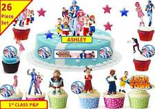 LAZY TOWN Scene Cup Cake Scene Toppers Wafer Edible STAND UP CUSTOM