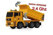 CAMION MAN 1:20 CANTIERE 2,4GHZ RC CANTIERE CASSONE RIBALTABILE LUCI e SUONI z