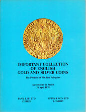 HN Spink & Son Ltd – IMPORTANT COLLECTION OF ENGLISH GOLD E SILVER COINS,  cb637