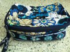 Retired Vera Bradley Mod Floral Blue Soft Jewelry Case