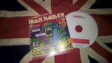 IRON MAIDEN - EL DORADO - EMI Denmark - RARE 1 track promo CD - Free Shipping!