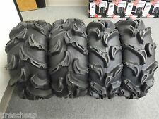 "28"" ITP MEGA MAYHEM ATV/UTV TIRES FULL COMPLETE SET 4  28x9-12 , 28x11-12"