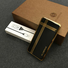 Rechargeable USB Battery Cigarette Cigar Flameless Windproof Electronic Lighter