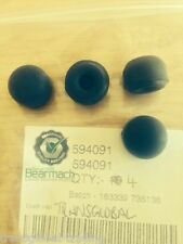 Land Rover Defender 2.5TD Brake Caliper Bleed Nipple Dust Caps x4 - Bearmach