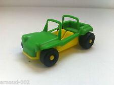 CGGC (Italie) - Dune Buggy 8 Cm en plastique - Vert & jaune - Vintage