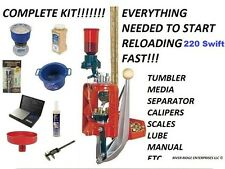 Lee Loadmaster Progressive Press 220 Swift  - COMPLETE KIT FOR RELOADING