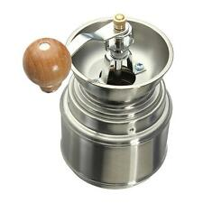 Manual Bean Coffee Bean Mill Nut Spice Hand Grinder Burr Grinder Stainless Steel