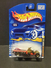 2001 Hot Wheels #69 Skull& Crossbones Series 1/4 Rigor Motor : 50104