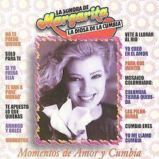 Momentos de Amor by Margarita y la Sonora de Margarita (CD, May-2002,...