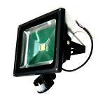10W 20W 30W 50W PIR Motion Sensor LED Flood Light Security Wall Lamp US Seller