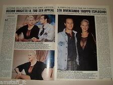 BRIGITTE NIELSEN clipping articolo fotografia foto photo 1990 AS26