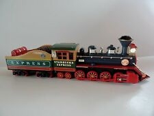 Starbucks Express Train Engine 2003 Coffee Bean Car Lights Model Toy Collectible