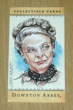 Cryptozoic Downton Abbey SKETCH MINI card John Haun Maggie Smith Violet Crawley