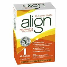 Align Digestive Care Probiotic Supplement 42 capsules Exp 05/2017 or Better