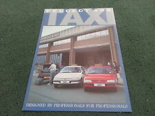 1988 1989 Peugeot 405 GLD SALOON TAXI - UK COLOUR FOLDER BROCHURE