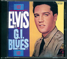 Elvis Presley - G.I. Blues CD Japan R32P 1056 OBI