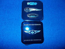 3 PIN'S HARLEY DAVIDSON /110th Winged/110th Anniversary /110th Museum pin!
