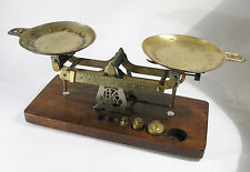 Antique Eastman Kodak Studio Scale with Weights from Early 1900s—Good Condition.