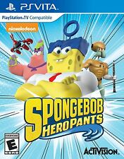 PS VITA SPONGEBOB HERO PANTS BRAND NEW VIDEO GAME HEROPANTS