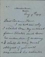 Annie Muriel Blaker. 9 Devonshire Terrace, Stanwix 1909  (JC.369)