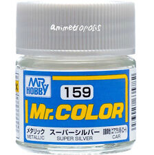 MR HOBBY Color C159 Super Silver Metallic Car Paint 10ml