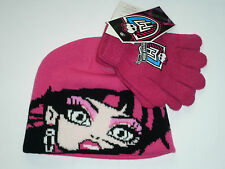 Set Bonnet et Gants Monster High rose