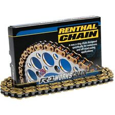 Renthal R1 520 MX Works Chain 120 Link For 2003-2016 Yamaha YZ450F
