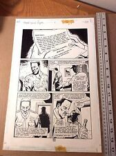 Preacher Original art: Story of You Know Who* Arseface Ennis Dillon Richard Case