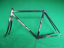 Meccanico Giro Silver/Navy Fade NJS Approved Keirin Frame Track Bike Fixed Gear