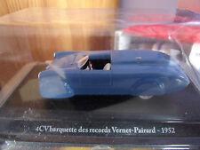 1/43 ELIGOR RENAULT 4 CV VASCHETTA RECORD VERNET nuovo in blister 1/43
