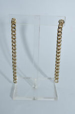 JULES SMITH 14 kt Plated Yellow Gold Designer Katy Chain Earrings $85 NEW
