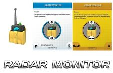 RADAR MONITOR OBJECT S102 WITH CARD DC HEROCLIX BATMAN STREETS OF GOTHAM