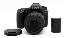 Canon EOS 80D 24.2MP DSLR Camera Body with 18-135mm IS USM Lens  24545