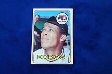 1969 TOPPS MONTREAL EXPOS MAURY WILLS