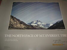 """EVEREST / North Face Of Everest """"MARION PATTERSON"""" Signed 1981 NATURE 22"""" x 26""""s"""